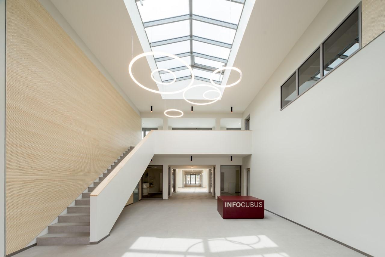 Modern bestralingscentrum OncoCubus in Recklinghausen