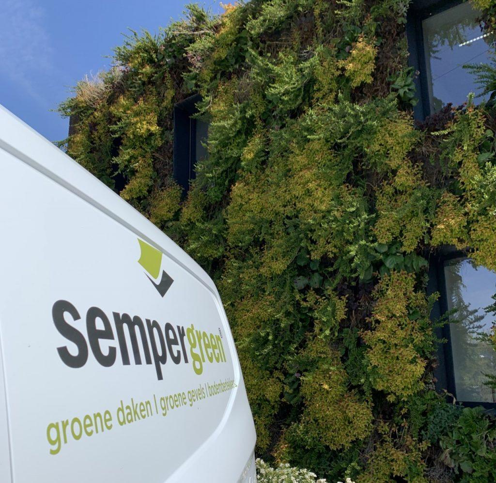 Busje onderhoud SemperGreenwall