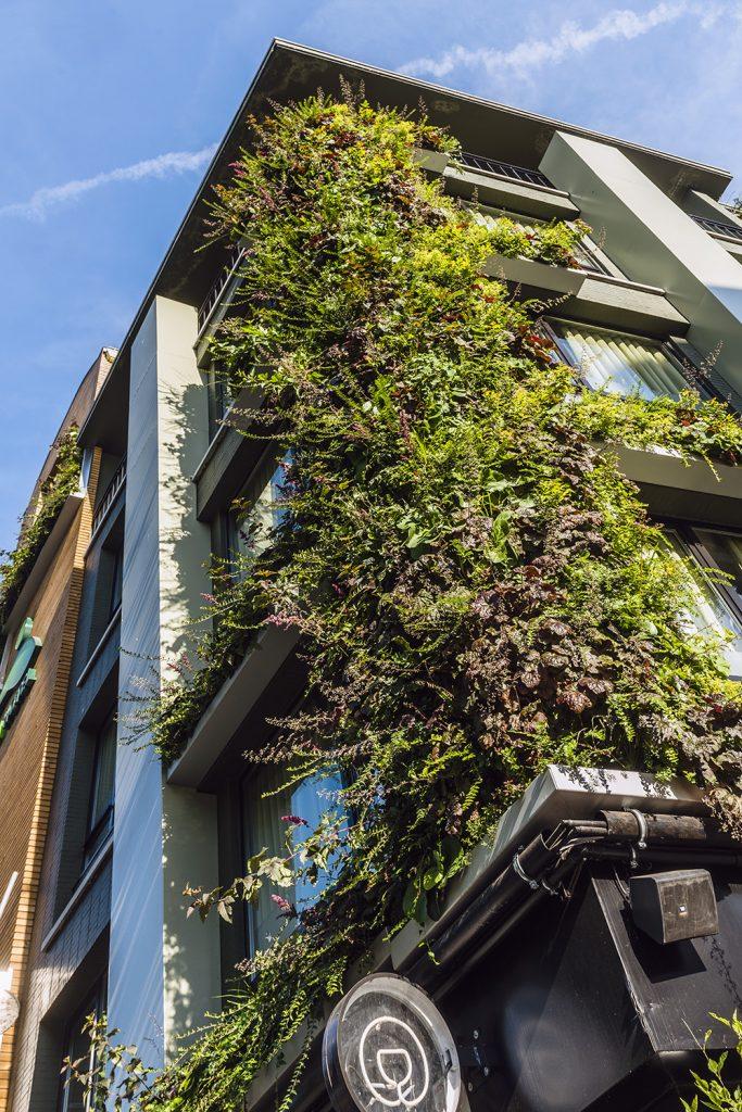 Groene gevel Greenhotel
