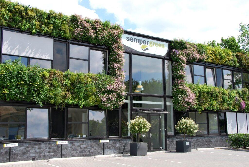 Hoofdkantoor Sempergreen in Odijk Nederland
