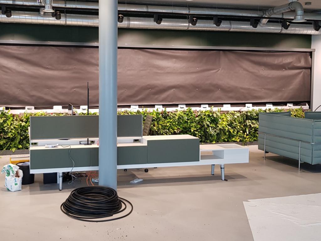 Installatie SemperGreenwall Indoor