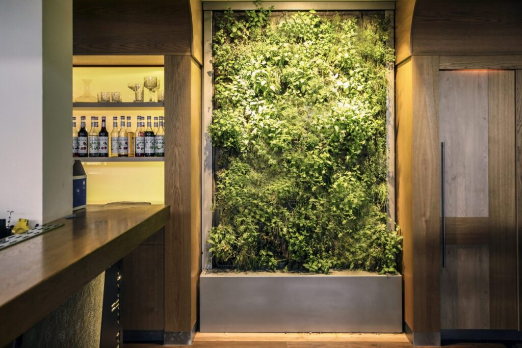 Verticale Kruidenwand SemperGreenwall CompactLine