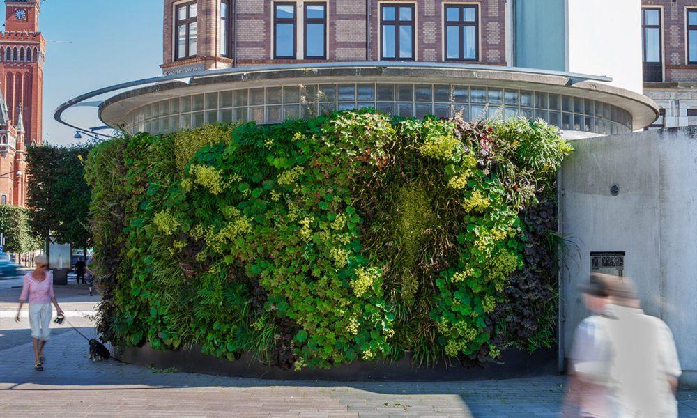 SWE Helsingborg pumphouse - outdoor living wall 2